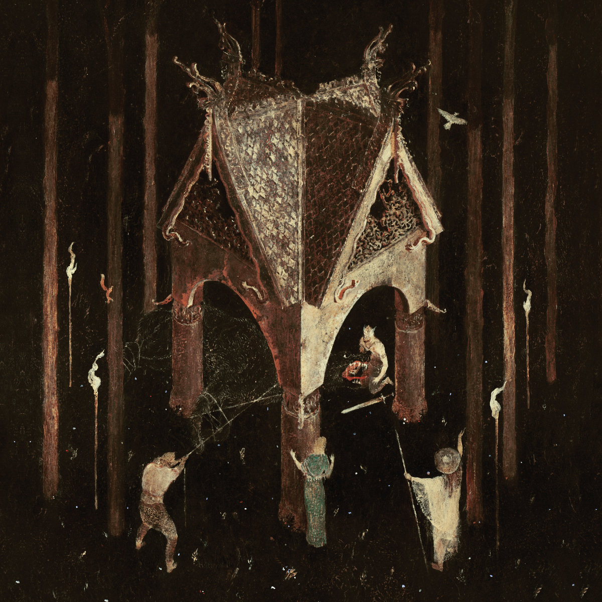 Wolves in the Throne Room Thrice Woen albumart