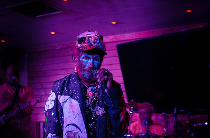 Lee Scratch Perry by Kieran Webber
