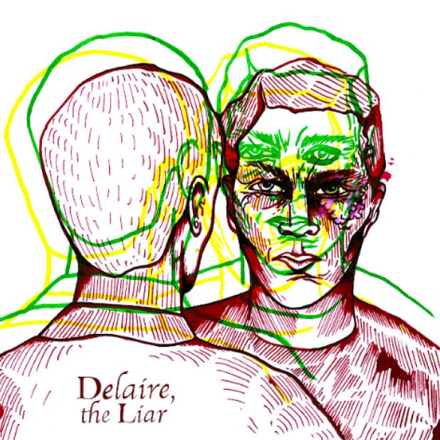 Delaire,The Liar Album Cover
