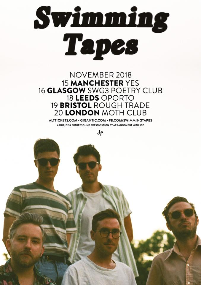 Swimming tapes tour dates